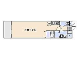 ピュアメゾン五日市[4階]の間取り