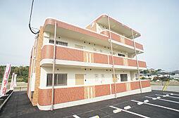 福岡県福津市日蒔野6の賃貸マンションの外観