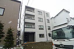 北海道札幌市白石区本郷通9丁目南の賃貸マンションの外観