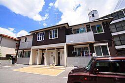 奈良県奈良市三碓3丁目の賃貸アパートの外観