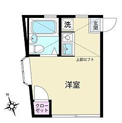 ピュアハウス鶴ヶ峰2番館[2階]の間取り
