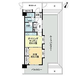 ライオンズマンション羽村富士見公園[6階]の間取り
