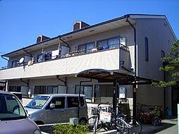ボヌール上野芝[1階]の外観