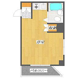 Nagahide Building[5階]の間取り