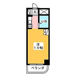 グランドゥール[5階]の間取り