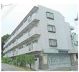 神奈川県横浜市青葉区新石川2丁目の賃貸マンションの外観
