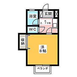カーサひじり5[1階]の間取り
