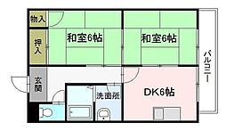津田野ビル[3階]の間取り