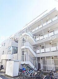 東京都足立区保木間4丁目の賃貸マンションの外観