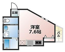 Lien de Kamimae[1階]の間取り