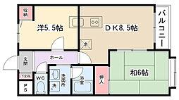ロワラフィネ[105号室]の間取り