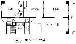オルテンシア神戸[5階]の間取り