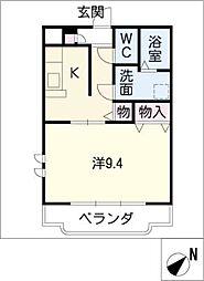 ユートピア垣鼻 II[2階]の間取り