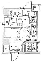 神奈川県横浜市南区通町2の賃貸マンションの間取り