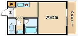 兵庫県神戸市西区大津和3丁目の賃貸アパートの間取り
