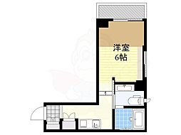 My Style NAKAMEGURO 1 2階1Kの間取り