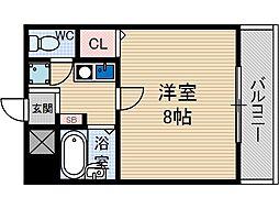 ステージ[1階]の間取り