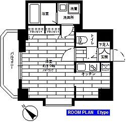 ステージファースト神楽坂[305号室]の間取り