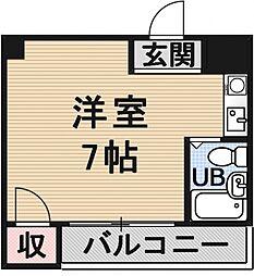 第8長栄ヴィライースト[203号室号室]の間取り