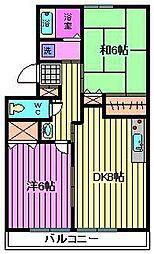 アランドパレスパート5[205号室]の間取り