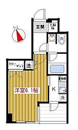 東京都豊島区池袋本町4丁目の賃貸マンションの間取り