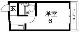 サンライフ布施[104号室号室]の間取り