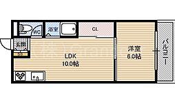 TOWA都島マンション[3階]の間取り