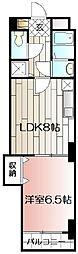 グランブル−[4階]の間取り