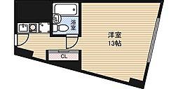ステュディオ新大阪[5階]の間取り