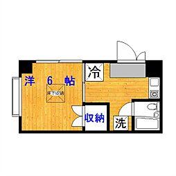 コート駒沢公園[2階]の間取り