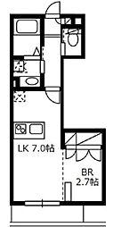フォーサイトハイツII[3階]の間取り