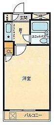 ライオンズマンション横浜山手[4階]の間取り