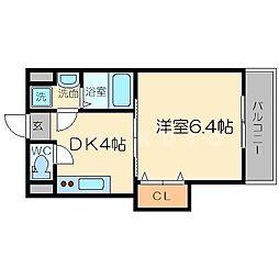下新庄二番館[6階]の間取り