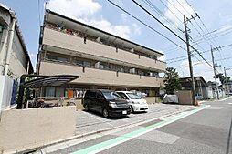 埼玉県川口市新井町の賃貸マンションの外観