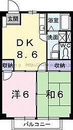 ニューシティ和田山 202[202号室]の間取り