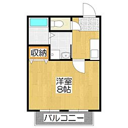 メゾン紫野[3階]の間取り