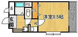 エトワールブリヤン[6階]の間取り