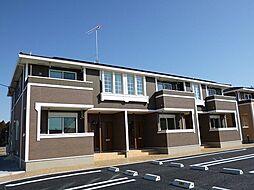 栃木県真岡市大沼の賃貸アパートの外観
