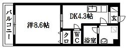 バートハイム伊藤II[2階]の間取り