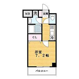 スペイサイドK[6階]の間取り