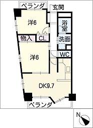 Mica Stage神宮南[8階]の間取り