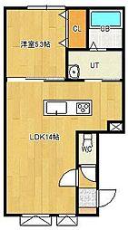 美芳町新築物件[2-C号室]の間取り