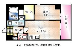 KatayamaBLDG22--[703号室]の間取り
