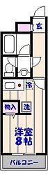 竹之内ビル[210号室]の間取り