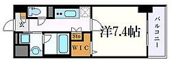 名古屋市営東山線 今池駅 徒歩7分の賃貸マンション 1階1Kの間取り