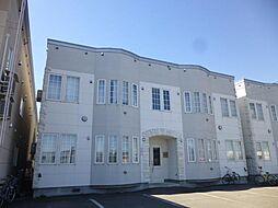 ロワールA棟[203号室]の外観