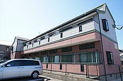福岡県糟屋郡新宮町大字三代の賃貸アパートの外観