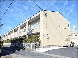 滋賀県近江八幡市安土町下豊浦の賃貸アパートの外観