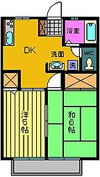 サンコートTOYODA B棟[102号室]の間取り