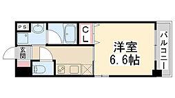 キセラコートWAKO[205号室]の間取り